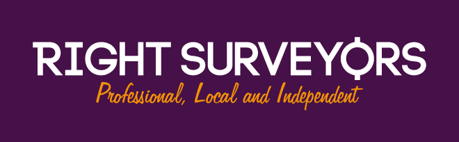 Right Surveyors Logo Full Purple